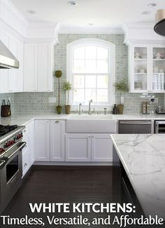 Check out the full article at https://builderssurplus.us/kitchen-design/white-kitchen-always-timeless-versatile-and-budget-friendly/! Builders Surplus is a home improvement and remodeling retailer that also offers free design services and installation services. We're located in Louisville, Kentucky and Newport, Kentucky, also serving Cincinnati Ohio.