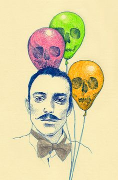 Loving these illustrations by Japanese artist Yukari Terakado