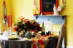 French Country Cottage Decorating Ideas   COUNTRY VILLA LIFESTYLE & DECOR…