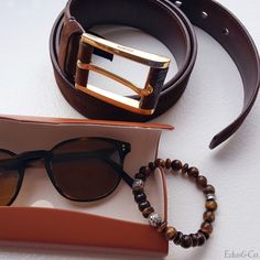 Its about about the accessories #fashion #luxury #mens #style #prada #belt #oliverpeoples #sunglasses #gem #silver #bracelet #nyc #paris #milan #la #jeweler #custom #bespoke #blogger #editorial #magazine #glam #designer #photo #handsome #mensfashion #menswear #look #eyewear #mensbracelet #silverbracelet #beadbracelet