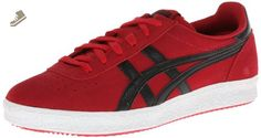 Onitsuka Tiger Vickka Moscow Fashion Shoe,Red/Black,8 M US - Onitsuka tiger sneakers for women (*Amazon Partner-Link)