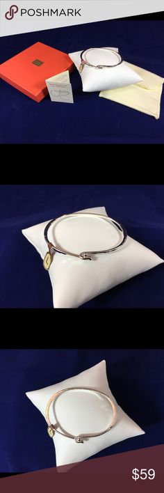 """NWT James Avery Hammerd Hook On Bracelet Large New With Tags Sterling Silver Size Large 2 1/2"""" Stamped Avery 925 James Avery Jewelry Bracelets"""