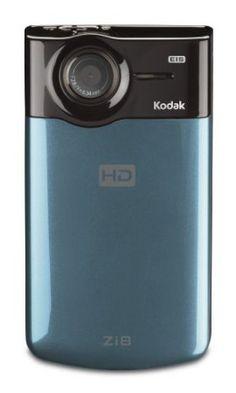 Kodak Zi8 Pocket Video Camera (Aqua)