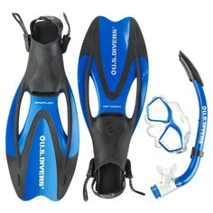 Aqua Lung Adults' Icon Snorkeling Set-- a must have for next cruise!