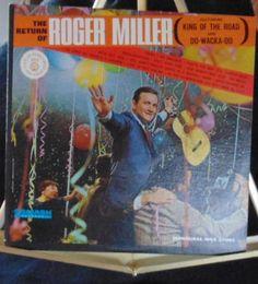 Roger Miller Lp Return Of Roger Miller Near Mint #AlternativeCountryAmericanaContemporaryCountryCountryPopEarlyCountryNashvilleSoundProgressiveCountryTraditionalCountry