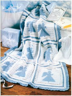 ❤❤❤ FAVORITE BABY AFGHAN ❤❤❤ Love to have this adorable collection - 18 more design patterns to choose from. - Easy ~ Crochet Baby Blanket / Afghan