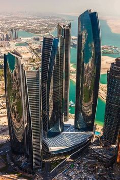 things to do in Abu Dhabi for tourists - City of sky scrapers. I just have to see Abu Dhabi for myself!- City of sky scrapers. I just have to see Abu Dhabi for myself! Futuristic Architecture, Amazing Architecture, Art And Architecture, Contemporary Architecture, Innovative Architecture, Contemporary Interior, Modern Art, Unique Buildings, Amazing Buildings