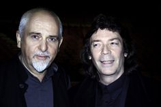 Peter Gabriel and Steve Hackett