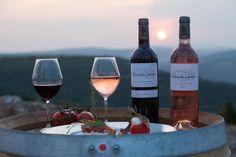 Dégustation Vins Château de Lastours www.chateaudelastours.com