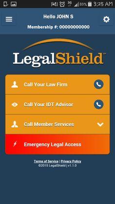 MyLegalShield - screenshot