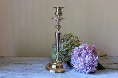 Vintage Silver Plate Candlestick by International Silver Wedding Decor by CottageBlu on Etsy