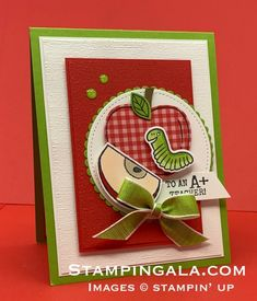 Stampin' Gala - Julie Gilson, Stampin' Up! Fall Teacher Gifts, Fall Gifts, Teacher Appreciation Gifts, Thanksgiving Blessings, Thanksgiving Cards, Teacher Cards, Employee Gifts, Teacher Favorite Things, Fall Cards