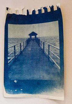 Lightroom, Photo Processing, Cyanotype, Art Graphique, Fabric Manipulation, Ocean Art, Mixed Media Collage, Diy Photo, Art Plastique