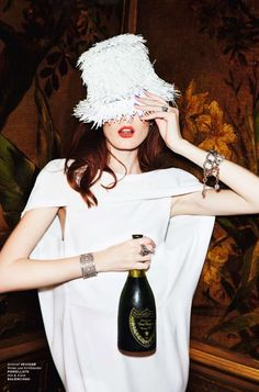 Dior and Champagne