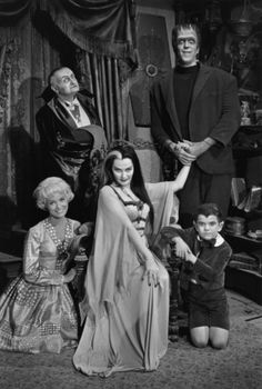 life at 1313 Mockingbird Lane, the Munsters - loved it! :)