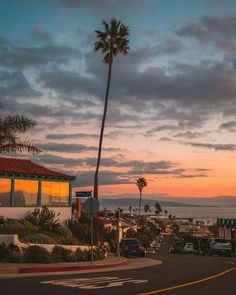 Californian Sunsets be like this via Debodoes | California Feelings