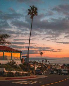 Californian Sunsets be like this via Debodoes | California Feelings