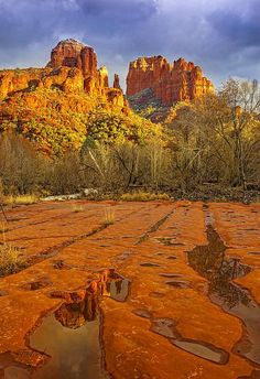 Cathedral Rocks, Sedona, Arizona
