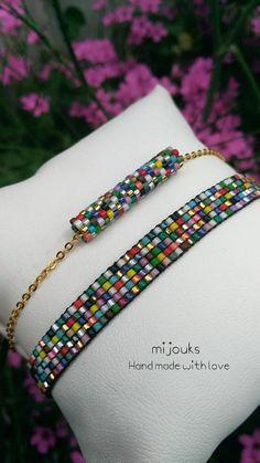 Miyuki beaded bracelet -Bracelet for woman- Handmade Bead loom bracelet -friendship bracelet-Dainty
