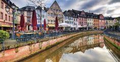 Saarburg's Alt Stadt - photo via Flickr: Wolfgang Staudt