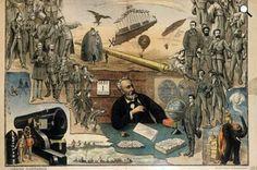 Jules Verne poszter, 1889 (Fotó: Wikimédia)