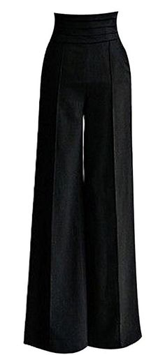Top 10 Hkjievshop women sexy casual high waist flare wide long pants palazzo trousers - Up To Off Hkjievshop women sexy casual high waist flare wide long pants palazzo trousers, New Models - Compare Hkjievshop women sexy casual high waist flare wide lo Baggy Pants, Long Pants, Women's Pants, Pants Outfit, Wide Leg Pants, Look Fashion, Autumn Fashion, Fashion Black, Street Fashion