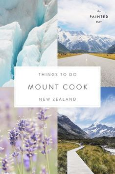 Pinterest Image - Things to do in Mount Cook and Tekapo, New Zealand