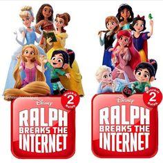 New poster of Ralph breaks the internet - Disney On Ice, Disney Girls, Disney Love, Disney Magic, Arte Disney, Disney Pixar, Disney Characters, Vanellope Y Ralph, Disney Princess Facts