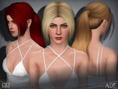 New Hair Mesh ll No Morph ll all Bones assigned ll All LODs Found in TSR Category 'Female Sims 3 Hairstyles' Download Hair, Sims 3, New Hair, Eyebrows, Female, Hair Styles, Bones, Mesh, Hair Plait Styles