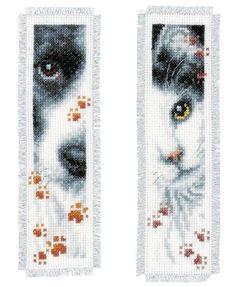 Cat and Dog Bookmark Kits