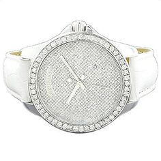 Luxurman Watches Mens Diamond Watch 2.50ct « Clothing Adds for your desire