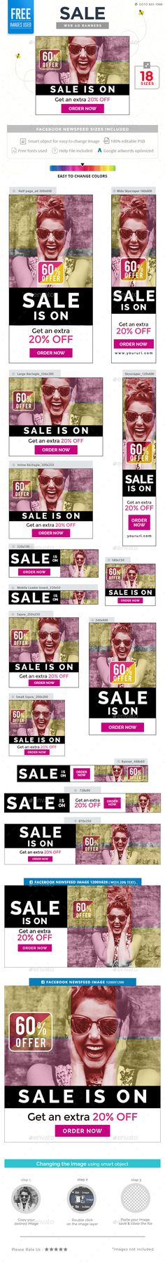 Sale Banners Template PSD