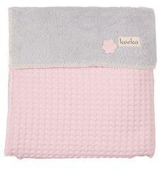 72,50 Deken: voor babybed Collectie: Oslo De deken Oslo is in drie maten te krijgen in de maat voor de wieg (75x100cm), ledikant (100x150 cm) en in de eenpersoons (140x200 cm) variant. Deze ledikantendeken