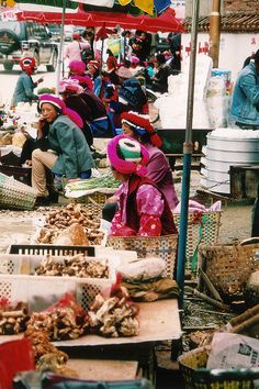 Market, Yunnan, China