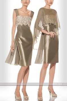 Wonderful outfit for mother of the bride or groom. Vestido de madrina de Teresa Ripoll  Referencia 3313