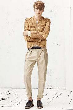 Balmain Spring 2013 Menswear Collection Slideshow on Style.com