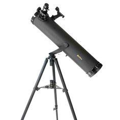 Galileo 800mm x 95mm Astronomical Reflector Telescope Kit, Black