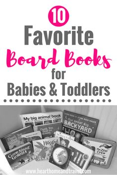 10 Favorite Board Books for Babies & Toddlers