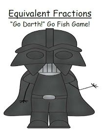 "Fern Smith's Classroom Ideas!: Fern's Freebie Friday ~ Star Wars Go Fish Game ""Go Darth!"""