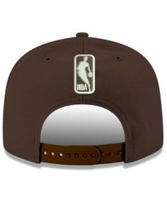 New Era Cleveland Cavaliers Fall Dubs 9FIFTY Snapback Cap - Brown Adjustable