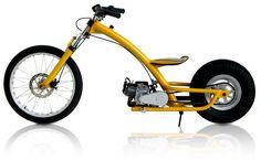 Mini Moto do Bruno Calura MotorCycle Mini Bike, Mini Moto, Custom Motorcycles, Custom Bikes, Cars And Motorcycles, Velo Design, Bicycle Design, Motorised Bike, Honda Cub