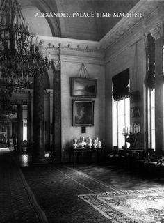 Corner of the Billiard Hall Alexander Palace