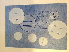 Mono printing Mushrooms, Plate, Printing, Kids Rugs, Buttons, Inspiration, Home Decor, Art, Biblical Inspiration