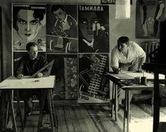 Vladimir and Georgii Stenberg, - Hledat Googlem