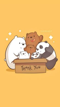 Cute Panda Wallpaper, Disney Phone Wallpaper, Cartoon Wallpaper Iphone, Bear Wallpaper, Kawaii Wallpaper, We Bare Bears Wallpapers, Panda Wallpapers, Cute Cartoon Wallpapers, Cute Kawaii Drawings