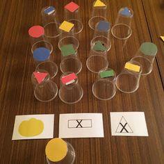 Kodowanie na dywanie: Kubeczki z potencjałem Cube, Triangle, Teaching, Education, Games, Preschool, Gaming, Toys, Onderwijs