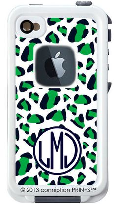 Monogrammed Lifeproof Case iPhone 4/4s or 5 by conniptionPRINTS, $126.00