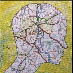 Partiiiir..... - Les cahiers de Joséphine Lascaux, Art Plastique, Map, Creative, Painting, Inspiration, Fantasy Map, Art Journaling, Cartography