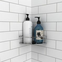 American Standard Passage 32 in. x 60 in. x 72 in. 4-Piece Glue-Up Alcove Shower Wall in White Subway Tile-P2969SWT.375 - The Home Depot Shower Wall Kits, Frameless Shower Doors, Decorative Wall Panels, Complete Bathrooms, Shower Base, Shower Shelves, American Standard, Subway Tile, Textured Walls