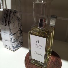 Fueguia fragrances collection with a brand new packaging